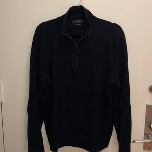 MENS Polo Ralph Lauren Cashmere Quarter Zip